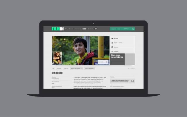 Filmin Website   Mucho